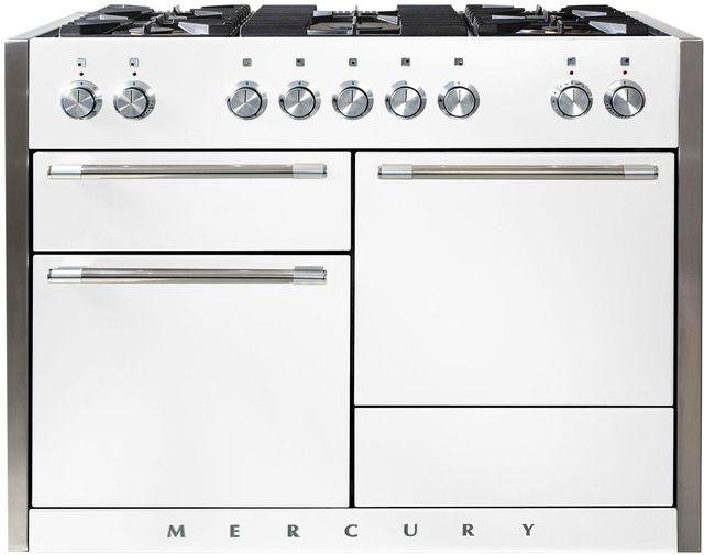 "AGA Mercury 48"" White Dual Fuel Range-AMC48DF-WHT"