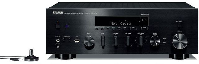 Yamaha Black Network Stereo Receiver-R-N803BL