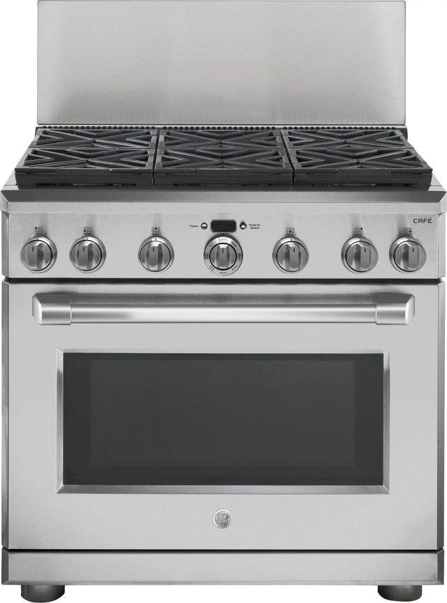 Dosseret de 12 po pour cuisinières GE® de 36 po - Acier inoxydable-UX12B36PSS