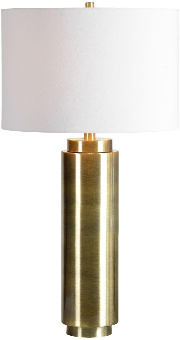 Renwil® Sherwood Antique Brushed Brass Table Lamp-LPT799