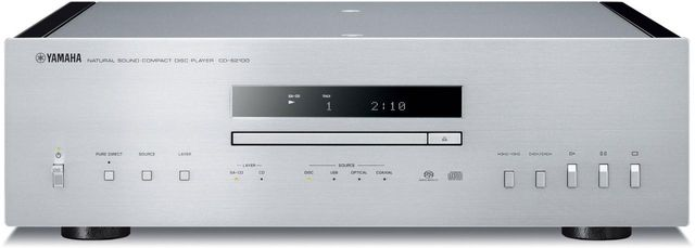 Yamaha® Silver High-Grade CD Player-CD-S2100SL