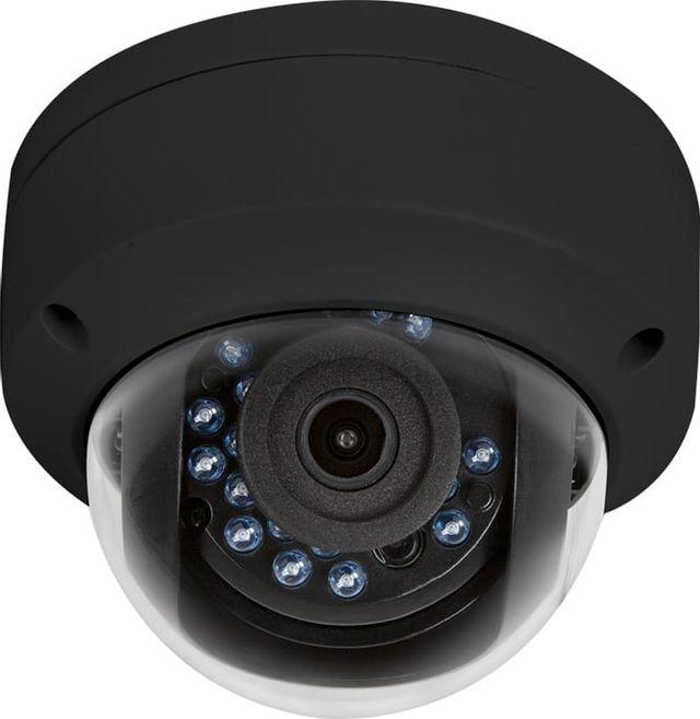 SnapAV Luma Surveillance™ 110 Series Black Dome Analog Camera-LUM-110-DOM-A-BL