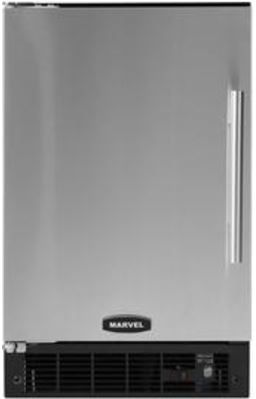 """Marvel 15"""" Compact Crescent Ice Machine-Stainless Steel-MA15CRSCLS"""