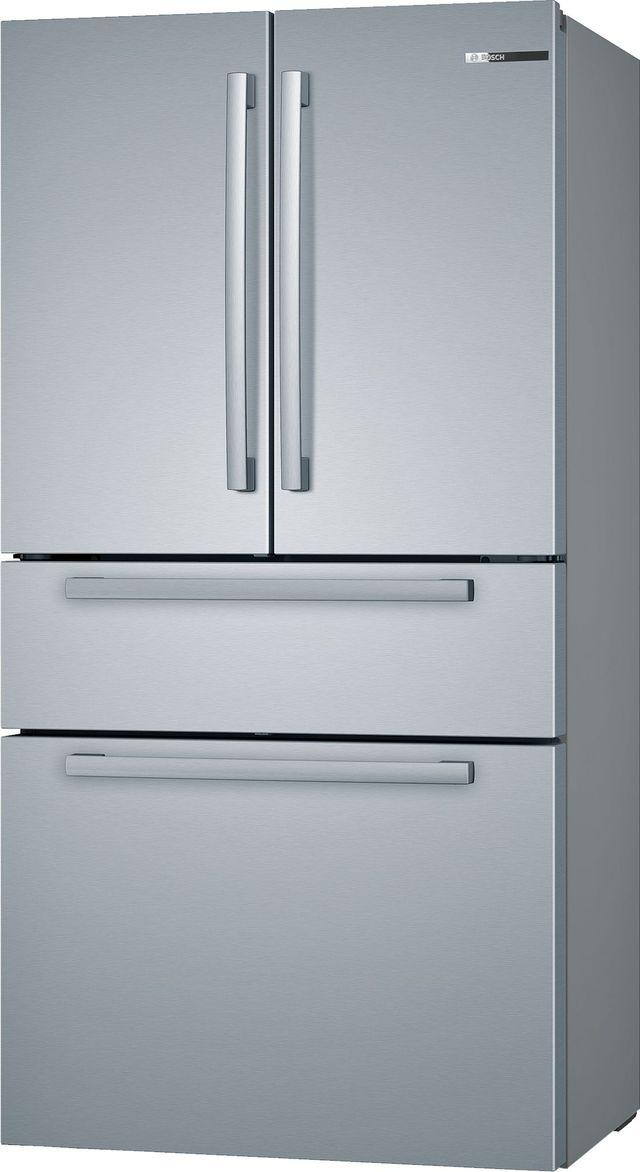 Bosch 800 Series 21 Cu. Ft. Stainless Steel French Door Bottom Freezer Refrigerator-B36CL80SNS