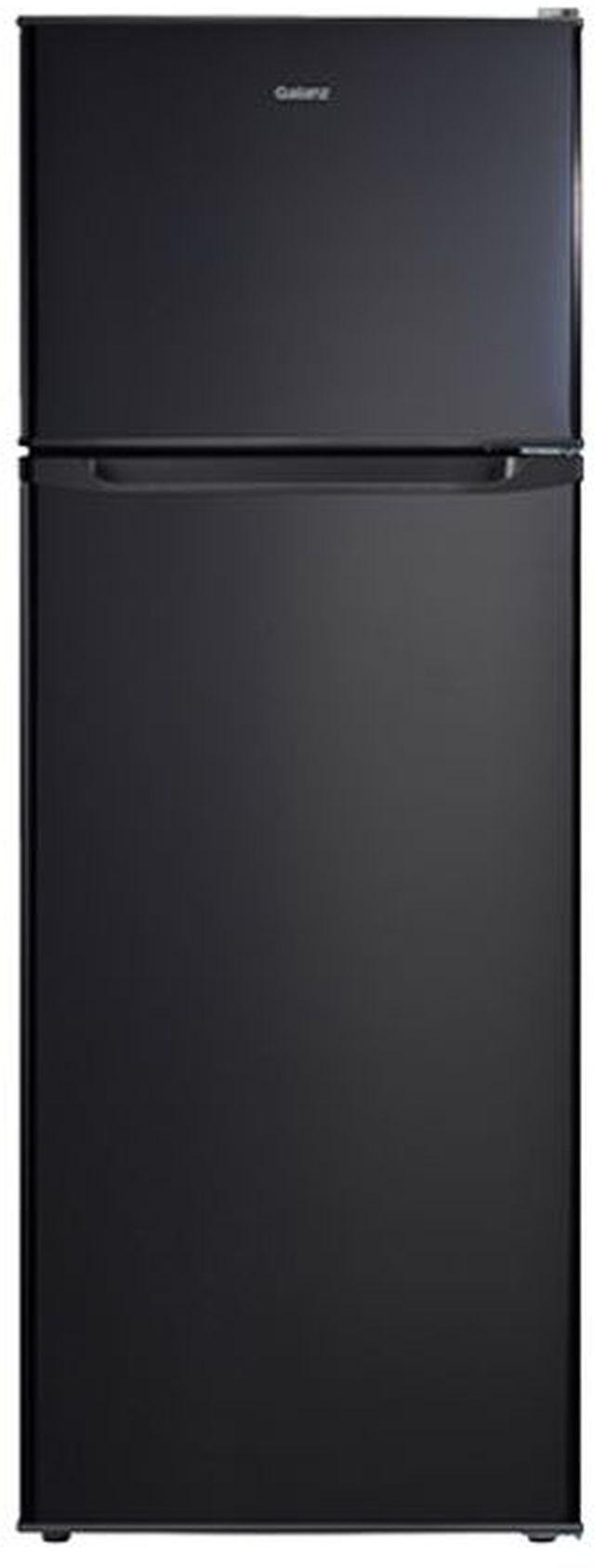 Galanz 12 Cu Ft. Black Top Freezer Refrigerator-GLR12TBKF