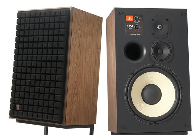 "JBL Synthesis® L100 Classic Brown 12"" 3-way Bookshelf Loudspeaker-JBLL100CLASSICBAM"
