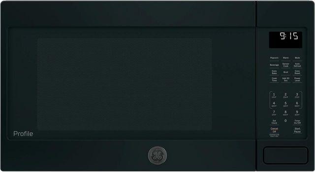 GE Profile™ 1.5 Cu. Ft. Black Countertop Convection/Microwave Oven-PEB9159DJBB
