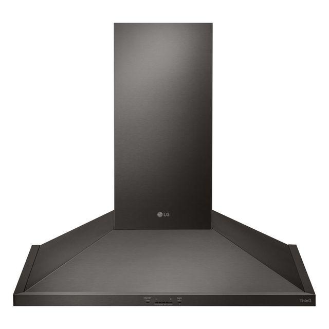 "LG 36"" BlackStainless Steel Wall Mount Chimney Hood-HCED3615D"