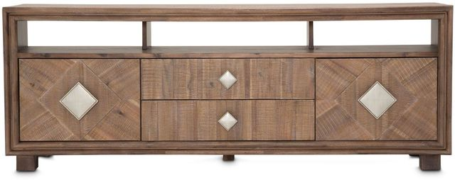 Michael Amini® Hudson Ferry Driftwood TV Console-KI-HUDF081-216