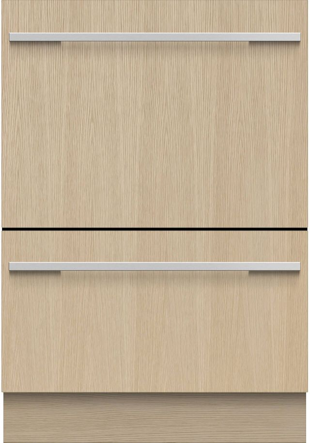 """Fisher & Paykel Series 9 24"""" Panel Ready Double Dishwasher-DD24DTI9 N"""