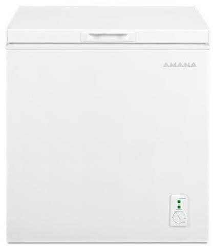 Amana® 5.3 Cu. Ft. White Compact Freezer-AQC0501GRW