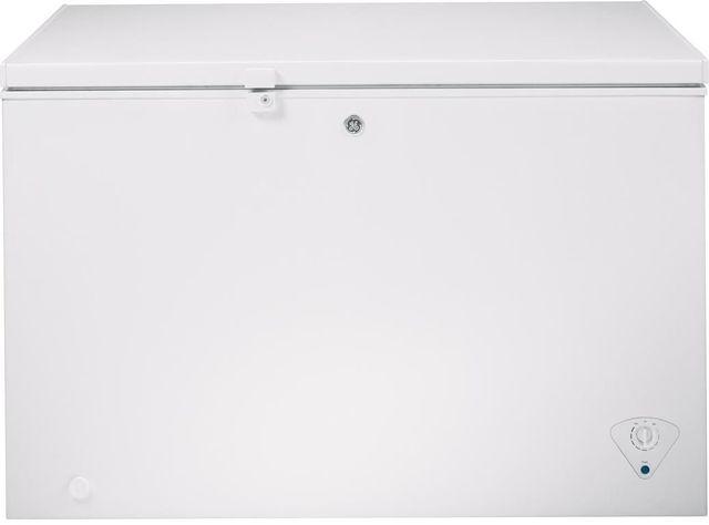 GE®10.6 Cu. Ft. Chest Freezer-White-FCM11PHWW