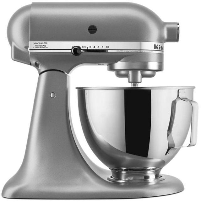 KitchenAid® Deluxe Silver 4.5 Quart Stand Mixer-KSM97SL
