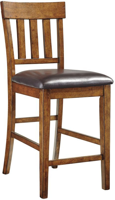 Signature Design by Ashley® Ralene Medium Brown Counter Height Upholstered Barstool-D594-124