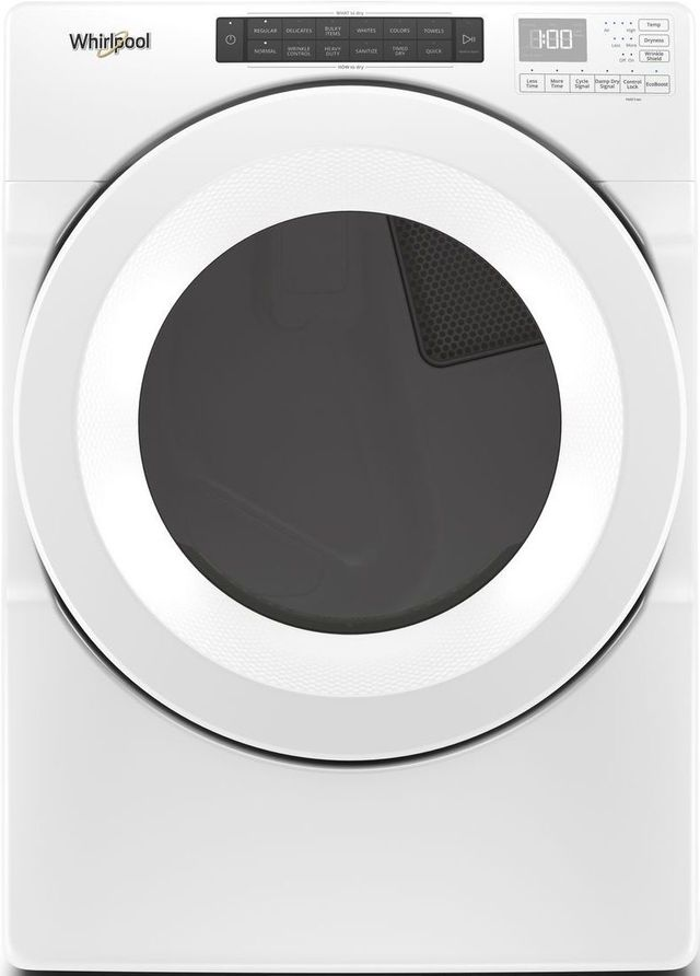 Whirlpool® 7.4 Cu. Ft. White Front Load Gas Dryer-WGD560LHW