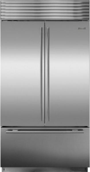 Sub-Zero® 24.7 Cu. Ft. Stainless Steel Built In French Door Refrigerator-BI-42UFDID/S/TH