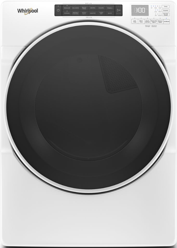 Whirlpool® 7.4 Cu. Ft. White Front Load Electric Dryer-WED6620HW