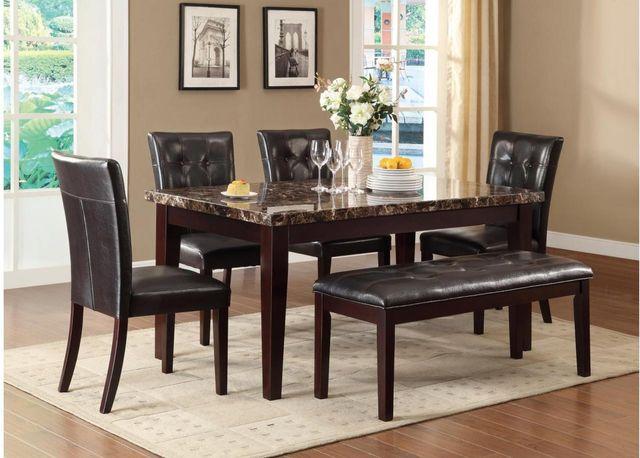 Teague 5 Piece Dining Table Set-2544-64*5