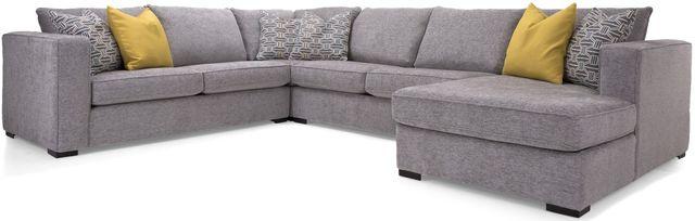 Sectionnel 4 morceaux 2900 en tissu gris Decor-Rest®-2900-2903+2901+2905+2906 GRAY