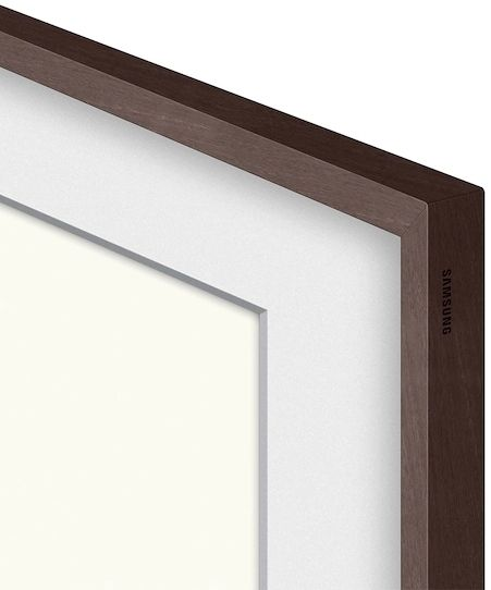 "Samsung The Frame Customizable 65"" Modern Brown Bezel-VG-SCFA65BWBZA"