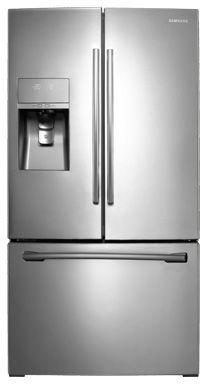 Samsung 31.6 Cu. Ft. French Door Refrigerator-Stainless Steel-RF323TEDBSR