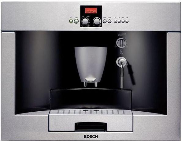 Bosch Benvenuto® Built-in Coffee Machine-Stainless Steel-TKN68E75UC