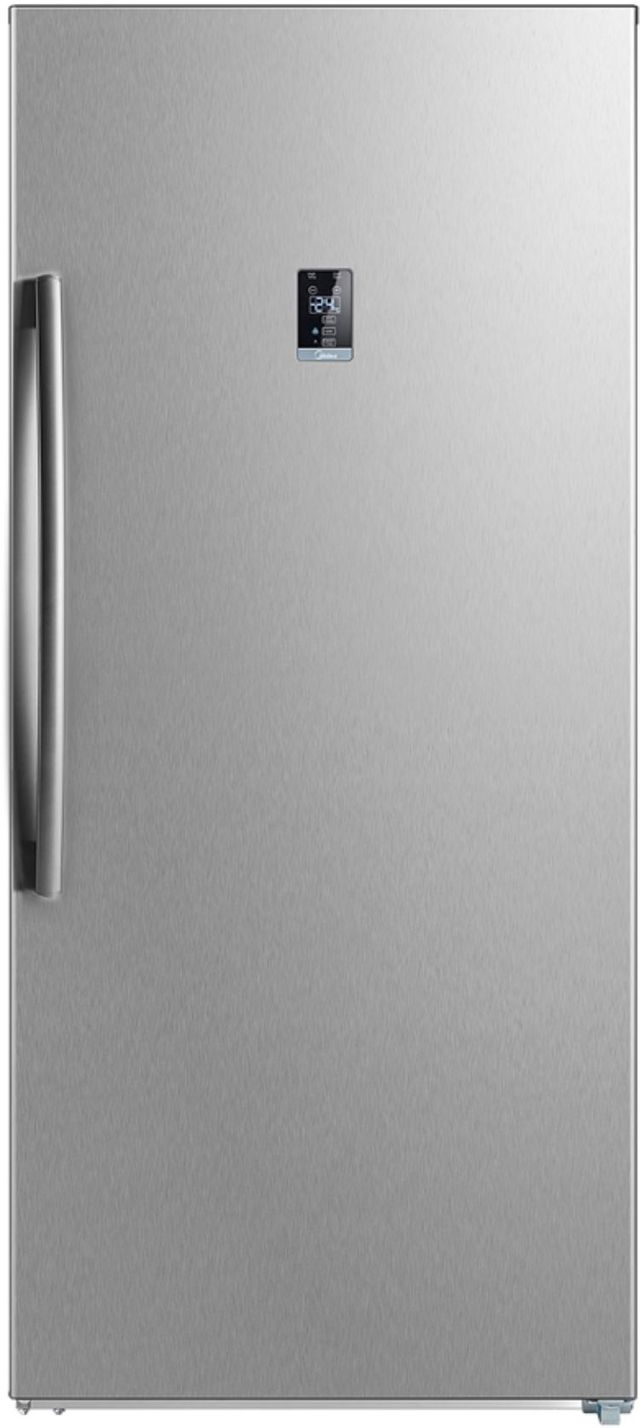 Midea® 13.8 Cu. Ft. Stainless Steel Convertible Upright Freezer-WHS-507FWESS1