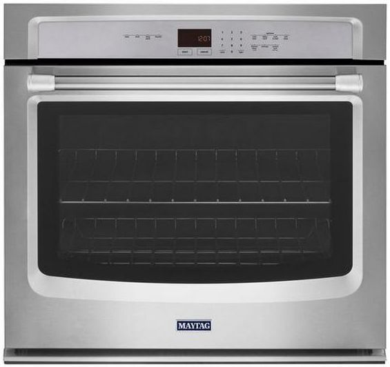 """Maytag 30"""" Electric Single Oven Built In-Stainless Steel-MEW7530DS"""