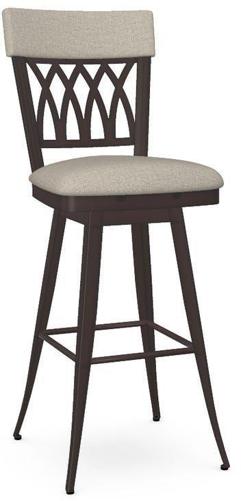 Amisco Oxford Swivel Bar Stool-41510-30