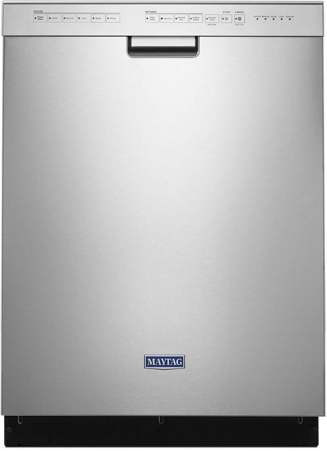 "Maytag® 24"" Fingerprint Resistant Stainless Steel Built In Dishwasher-MDB4949SHZ"