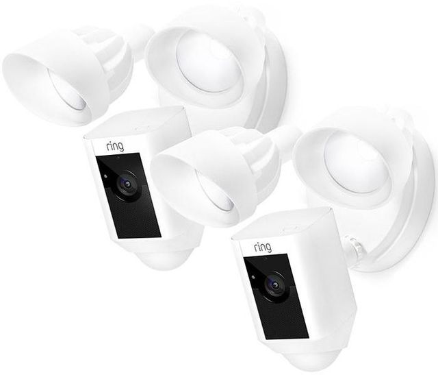 Ring 2 Pack White Floodlight Cam-4139782897695
