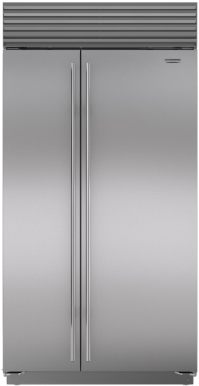 Sub-Zero® 24.3 Cu. Ft. Built In Side By Side Refrigerator-Stainless Steel-BI-42S/S/TH
