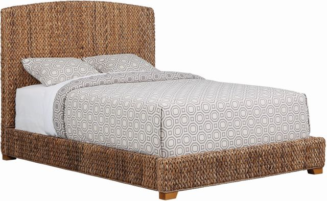 Coaster® Laughton Amber Brown Queen Bed-300501Q
