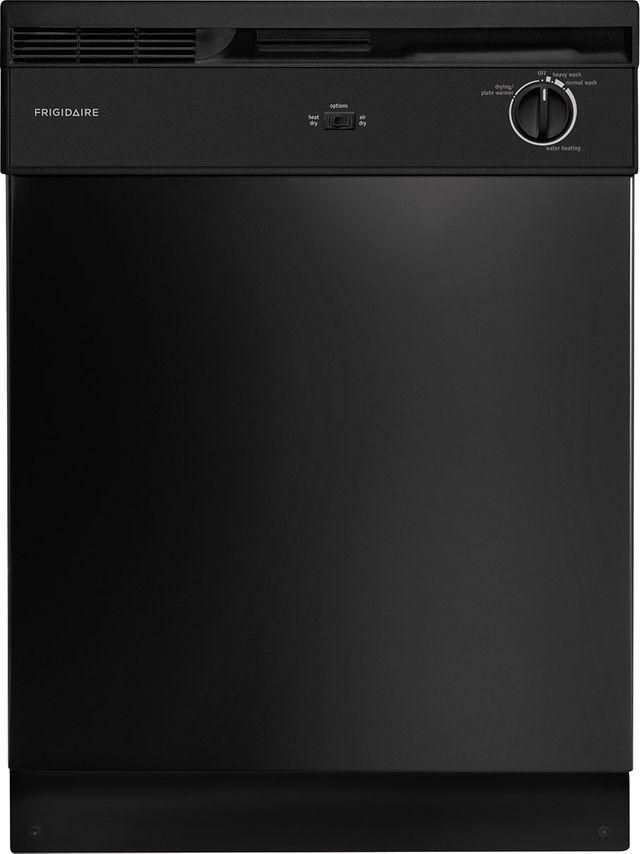 Frigidaire® 24'' Black Built In Dishwasher-FBD2400KB