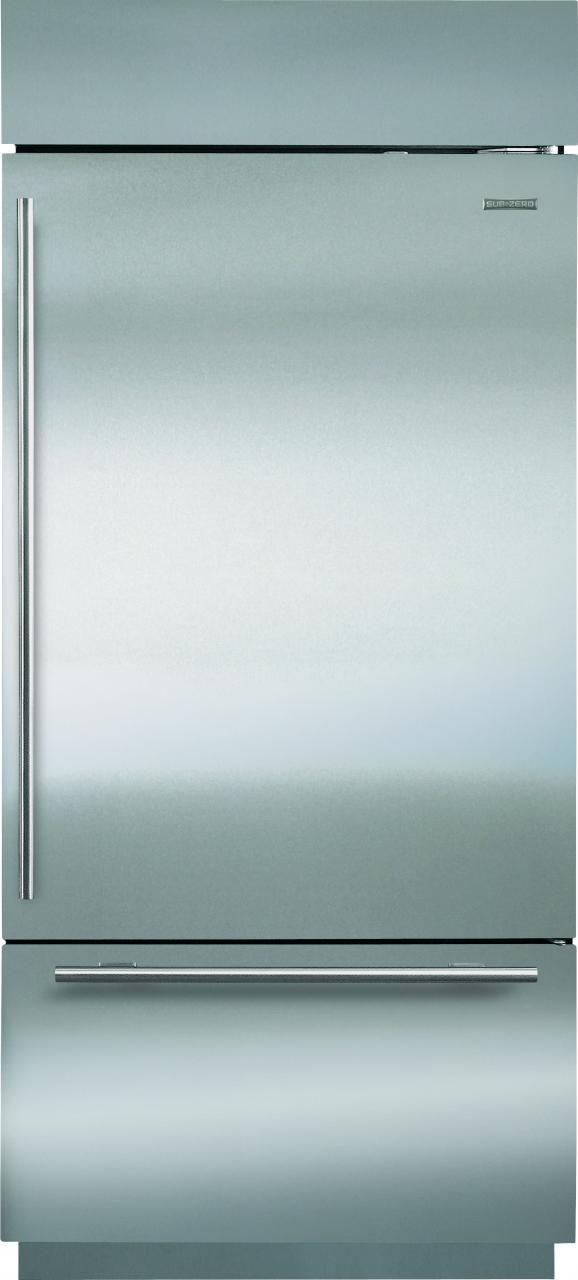 Sub-Zero® 21.7 Cu. Ft.Stainless Steel Bottom Freezer Refrigerator-BI-36UID/S/TH-RH