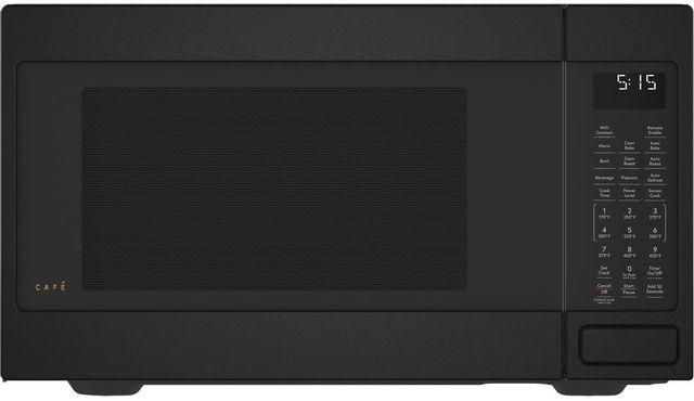 Café™ 1.5 Cu. Ft. Matte Black Countertop Microwave-CEB515P3NDS-12-645A