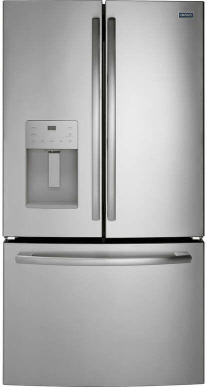 Crosley® 25.6 Cu. Ft. Stainless Steel Bottom Freezer Refrigerator-XFE26JSMSS