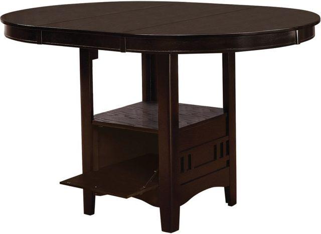 Coaster® Lavon Espresso Oval Counter Height Table-102888
