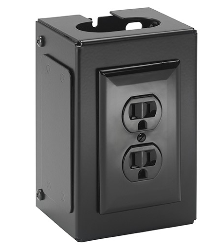 Chief® Black Manufacturing Fusion™ Power Outlet Accessory-FCA540