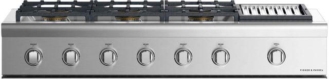 "Fisher Paykel Professional 48"" Gas Rangetop-Stainless Steel-CPV2-486GLN N-CPV2-486GLN N"