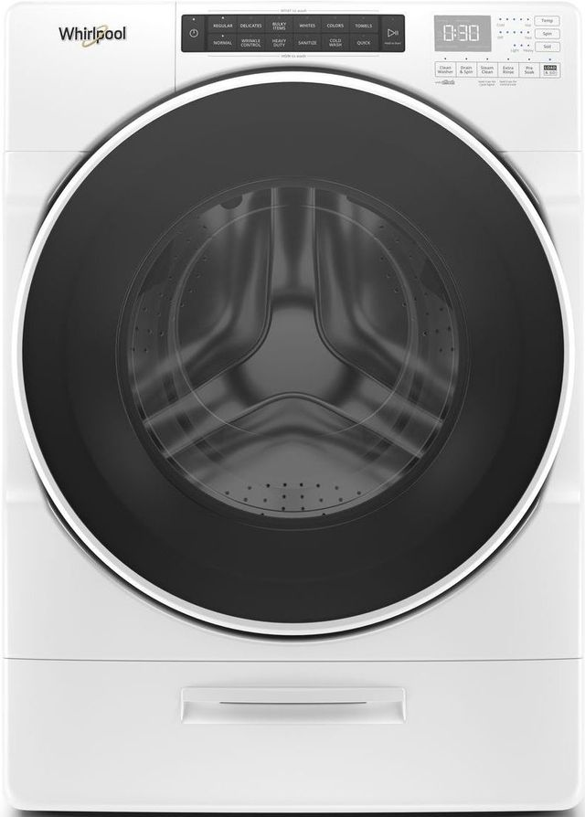 Whirlpool® 4.5 Cu. Ft. White Front Load Washer-WFW6620HW