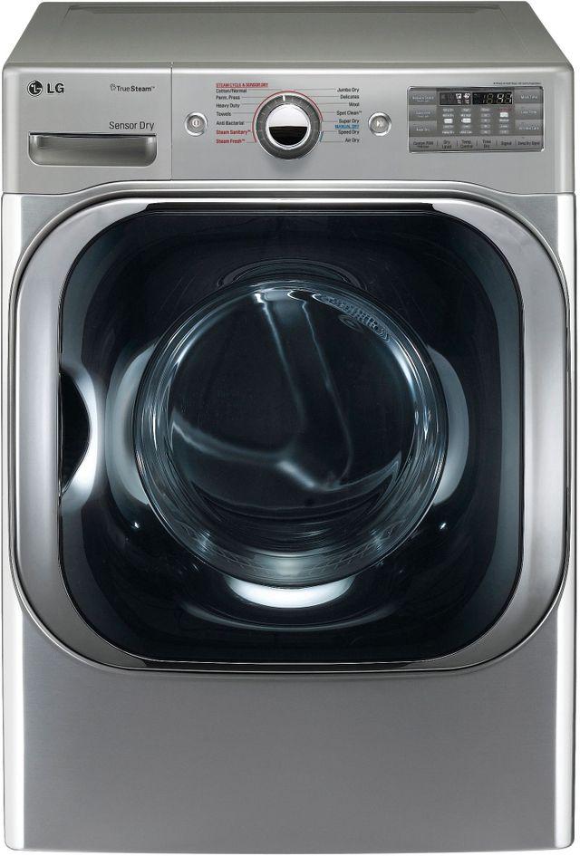 LG 9.0 Cu. Ft. Graphite Steel Front Load Electric Dryer-DLEX8100V