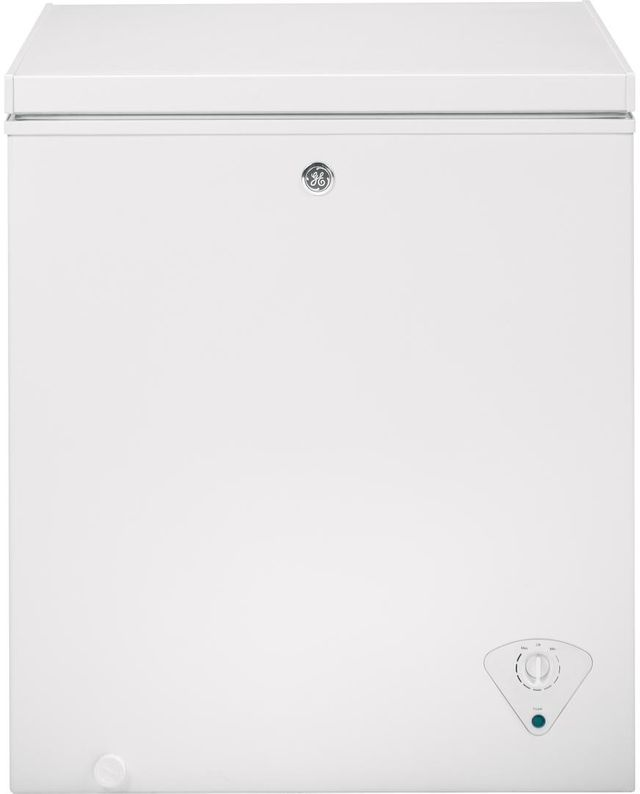 GE® 5.0 Cu. Ft. Chest Freezer-White-FCM5SKWW