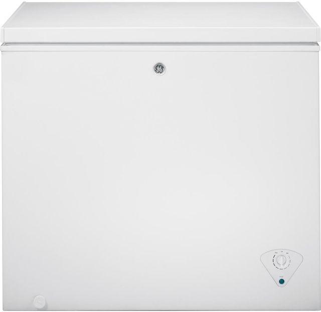 GE® 7.0 Cu. Ft. White Chest Freezer-FCM7SKWW
