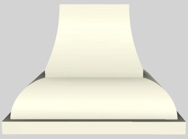 """Vent-A-Hood® Designer Series 42"""" Wall Mounted Range Hood-Biscuit-JCH242/A1 BT"""
