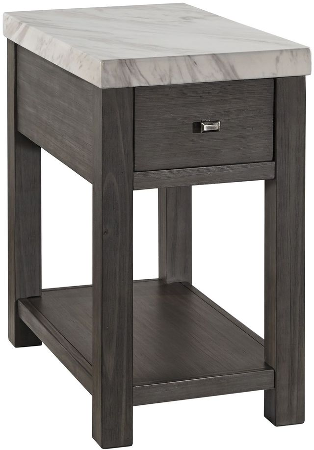 Signature Design by Ashley® Vineburg Gray/White Chair Side End Table-T450-7