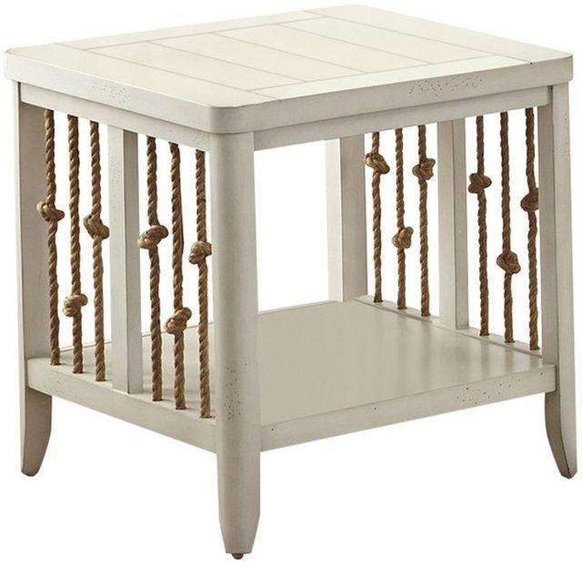 Liberty Furniture Dockside II White End Table-469-OT1020