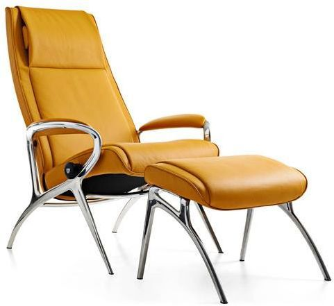 Stressless® by Ekornes® YOU James Chair and Ottoman-1503315