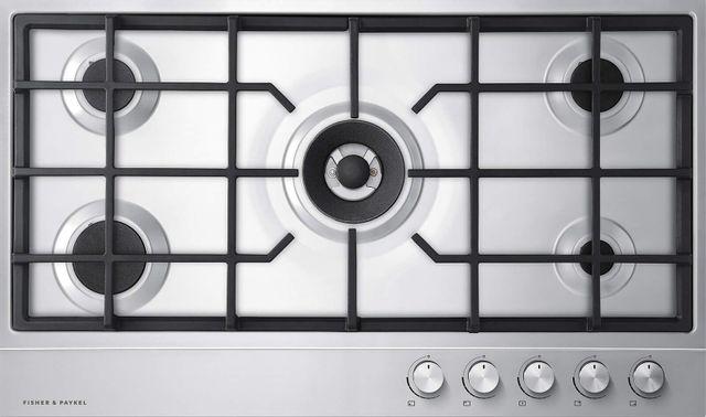 Table de cuisson au gaz Fisher Paykel® de 36 po - Acier inoxydable-CG365DLPX1 N