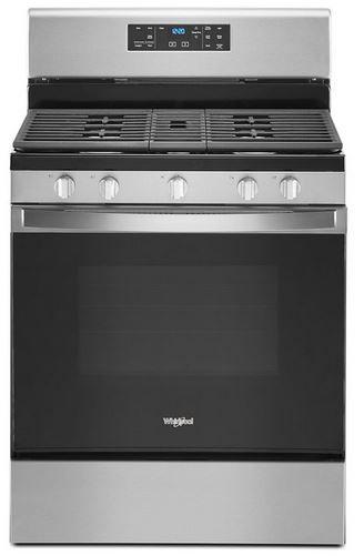"Whirlpool® 30"" Stainless Steel Free Standing Gas Range-WFG525S0JS"